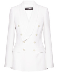 weißes Wollsakko von Dolce & Gabbana