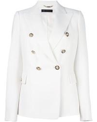 weißes Zweireiher-Sakko von Versace